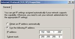 How to Assign Static IP Address in Windows 7