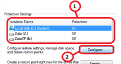 How to Disable System Restore in Windows 7