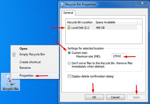 Increase Hard Drive Space Windows 7