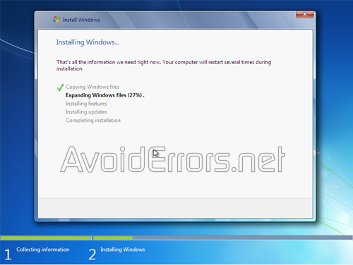 How to format and Reinstall Windows 7 1