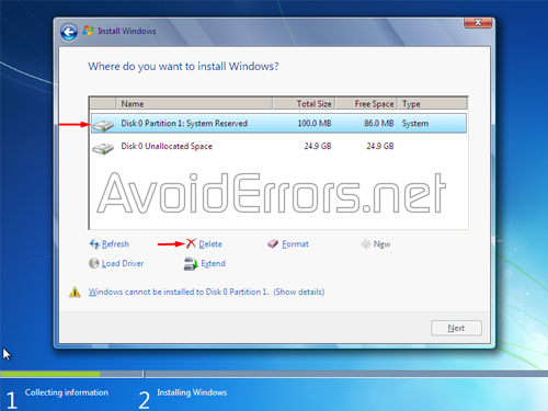 How to format and Reinstall Windows 7 10