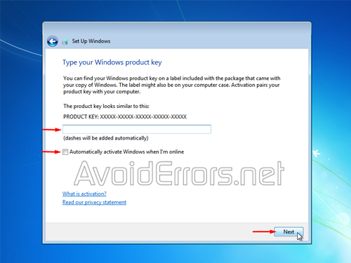 what is product key for windows 7