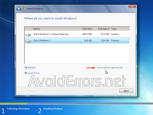 How to format and Reinstall Windows 7 2