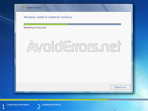 How to format and Reinstall Windows 7 3