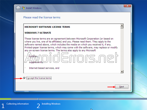 How to format and Reinstall Windows 7 5