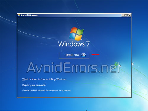How to format and Reinstall Windows 7 6