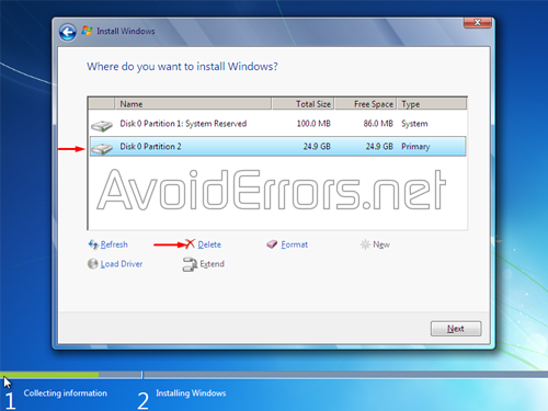 How to format and Reinstall Windows 7 8