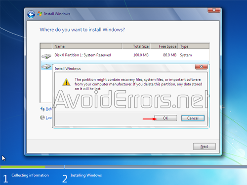 How to format and Reinstall Windows 7 9