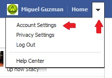Stop facebook Notifications From Going to my email