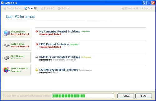 How to Remove System Fix Virus