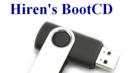 How to Launch Hiren's BootCD from USB Flash Drive