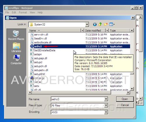 Bypass windows copy error