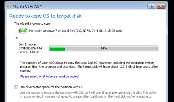 Migrate to a Solid State Drive Without Reinstalling Windows3