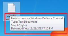 How to Disable Pop up help Windows 8.1