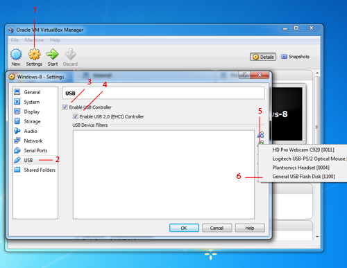 How to Forwarding USB Devices on Oracle VirtualBox - AvoidErrors