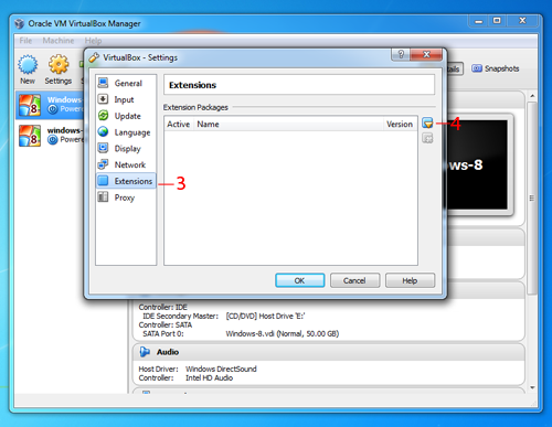 How to Install Oracle VM VirtualBox Extension Pack for