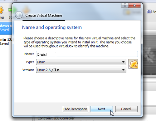 Install Android on a Virtual Machine