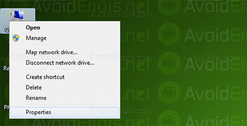 how to disable automatic restart in win 7