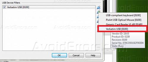 how to run a virtual machine pn a usb