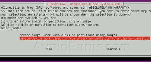 Cloning Fedora 8