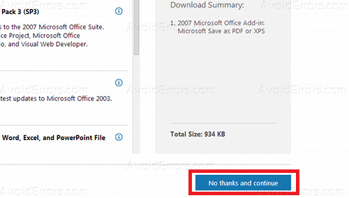 How to Convert Office 2007 Documents to PDF - AvoidErrors