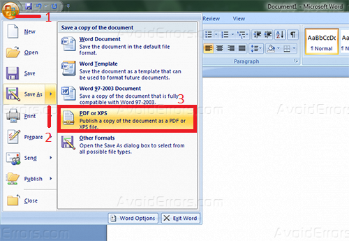 convert openoffice document to pdf