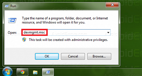 Customize name device manager 1
