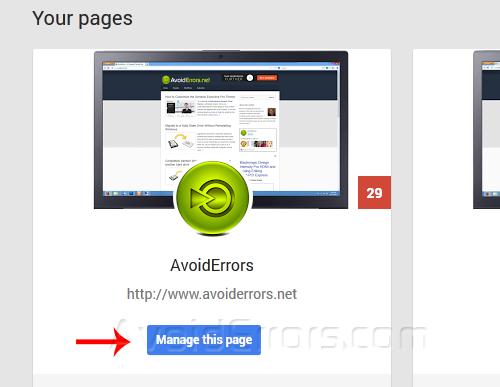 Delete Google plus Page 2