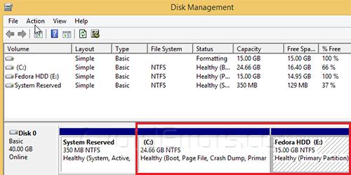 Dual Boot Windows and Fedora 1