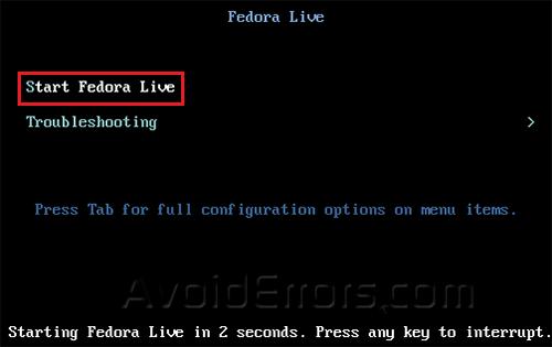Dual Boot Windows and Fedora 3