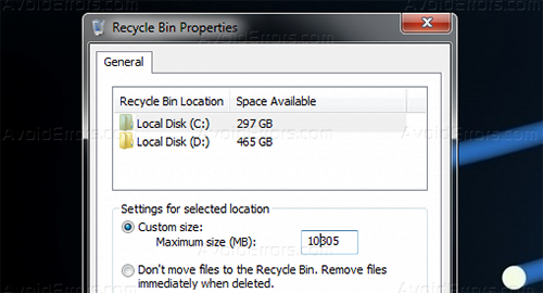 Free Disk Space 2