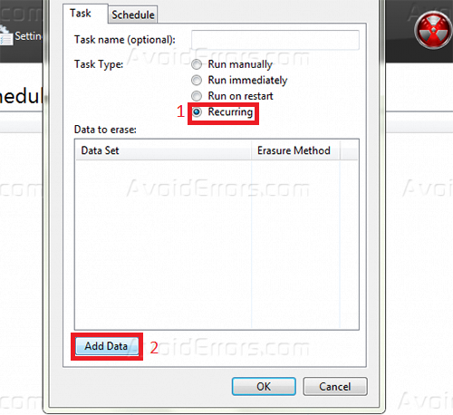 how to erase empty space on hard drive