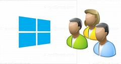 Install local users and groups in Windows 8 or 8.1