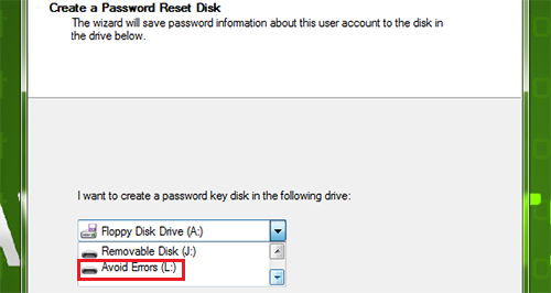 Windows 7 Password Reset Disk 3