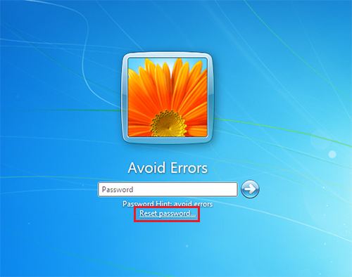 Windows 7 Password Reset Disk 5