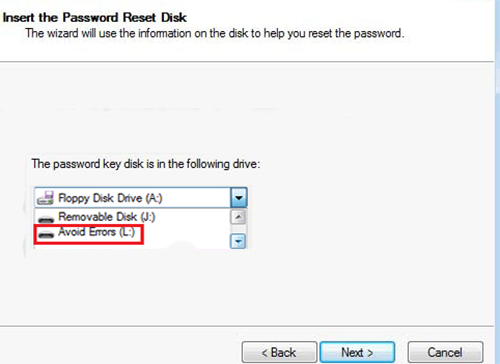 Windows 7 Password Reset Disk 6