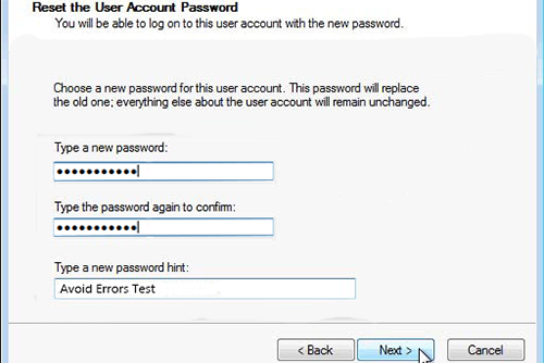 Windows 7 Password Reset Disk 7