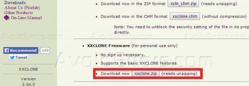 XX Clone install 1