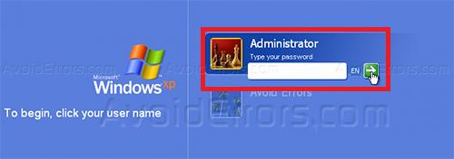 Bypass XP Password 2