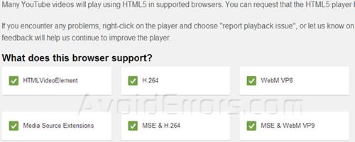 Enable HTML 5 image 1