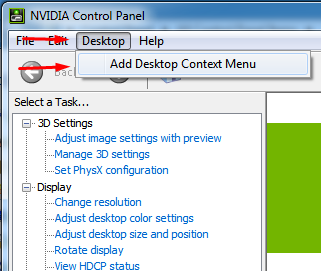 Remove NVIDIA Contorl Panel from the right click context menu 3
