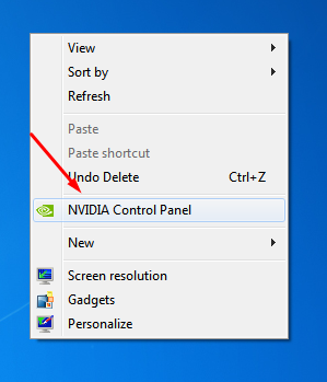 Remove NVIDIA Contorl Panel from the right click context menu