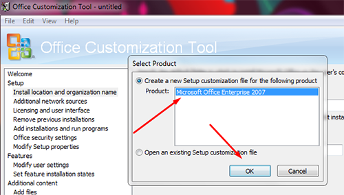ms office 2007 licensing