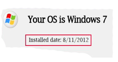 How to Find the Installation Date of your OS