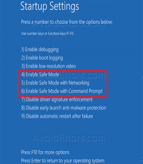 how to boot in safe mode on windows 8 avoiderrors