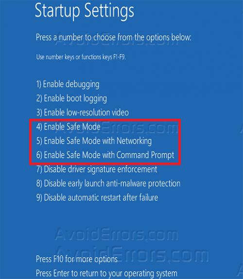 Windows 8 Safe Mode 9