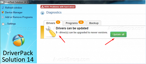 driver solution 14