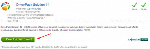 Driver pack for windows 7 32 bit torrent | DriverPack