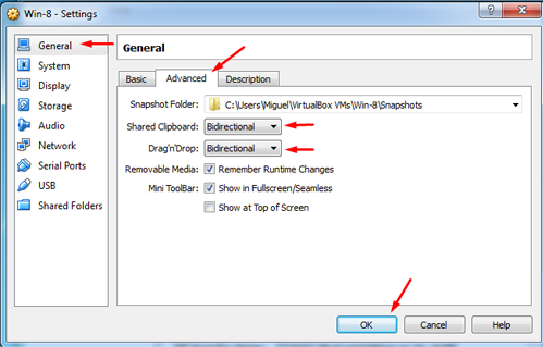 How to Copy And Paste Between VirtualBox Host And Guest Machines 11