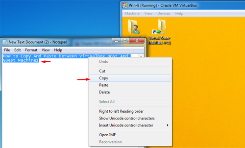 How to Copy And Paste Between VirtualBox Host And Guest Machines 13